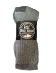 Case Lot Womens Gray Merino Wool Sock