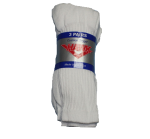 Mens White Crew Sock