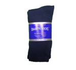 Navy Diabetic Crew Socks